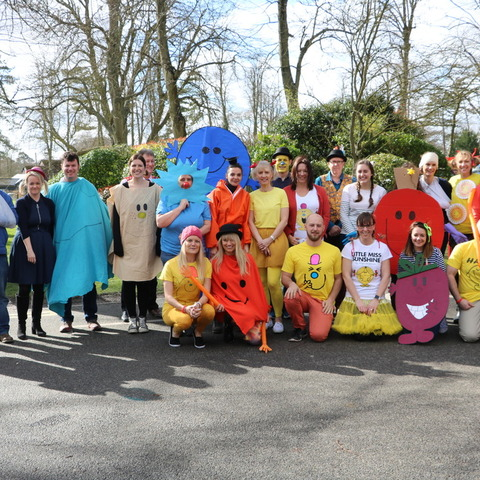 Moulsford Staff as the Mr Men