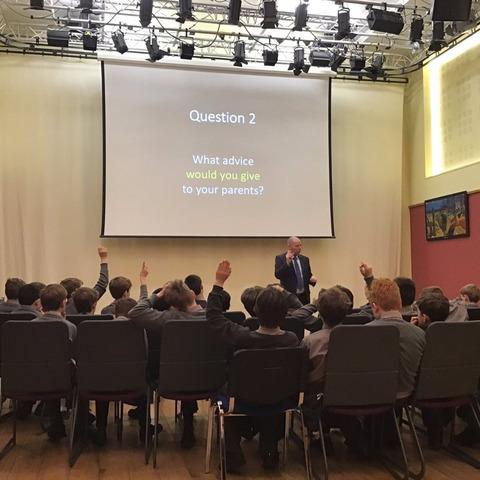 Moulsford boys discuss e-safety
