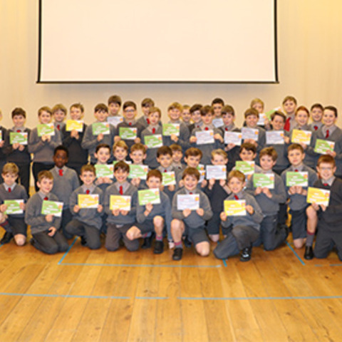 Certificates Presented to 51 Moulsford boys