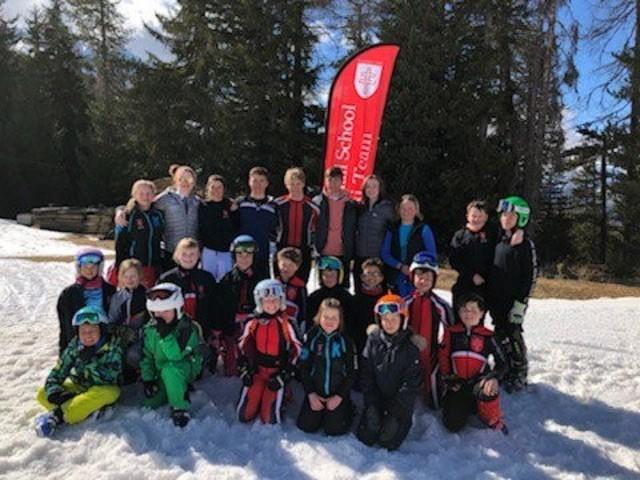 New Hall Skiers