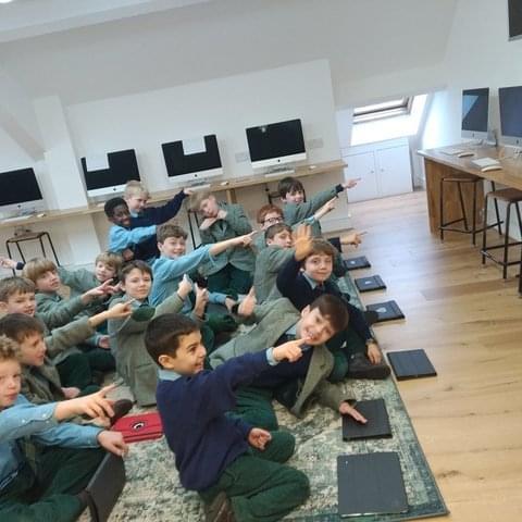 Boys in Computing Suite 2