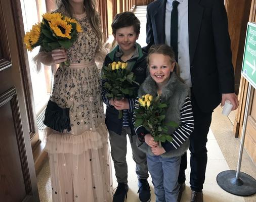 Henri Dinger & Anna Perkins wedding