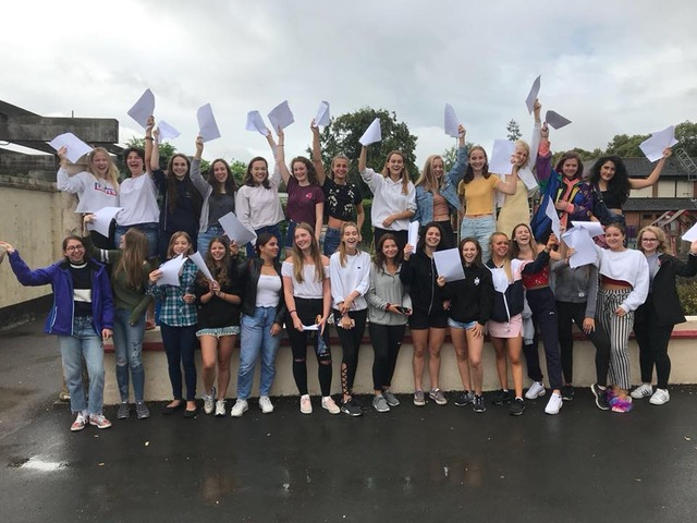NOTRE DAME GIRLS RISE TO THE CHALLENGE OF NEW 'TOUGHER' GCSE