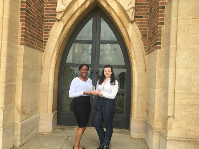 NOTRE DAME GIRLS WIN AT YOUNG ENTERPRISE SOUTH EAST ENGLAND FINAL
