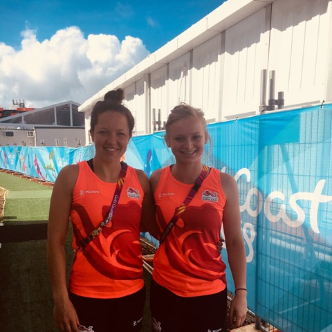 Oakham School's Elli Watton & Kathryn Lane winCommonwealth Games Bronze