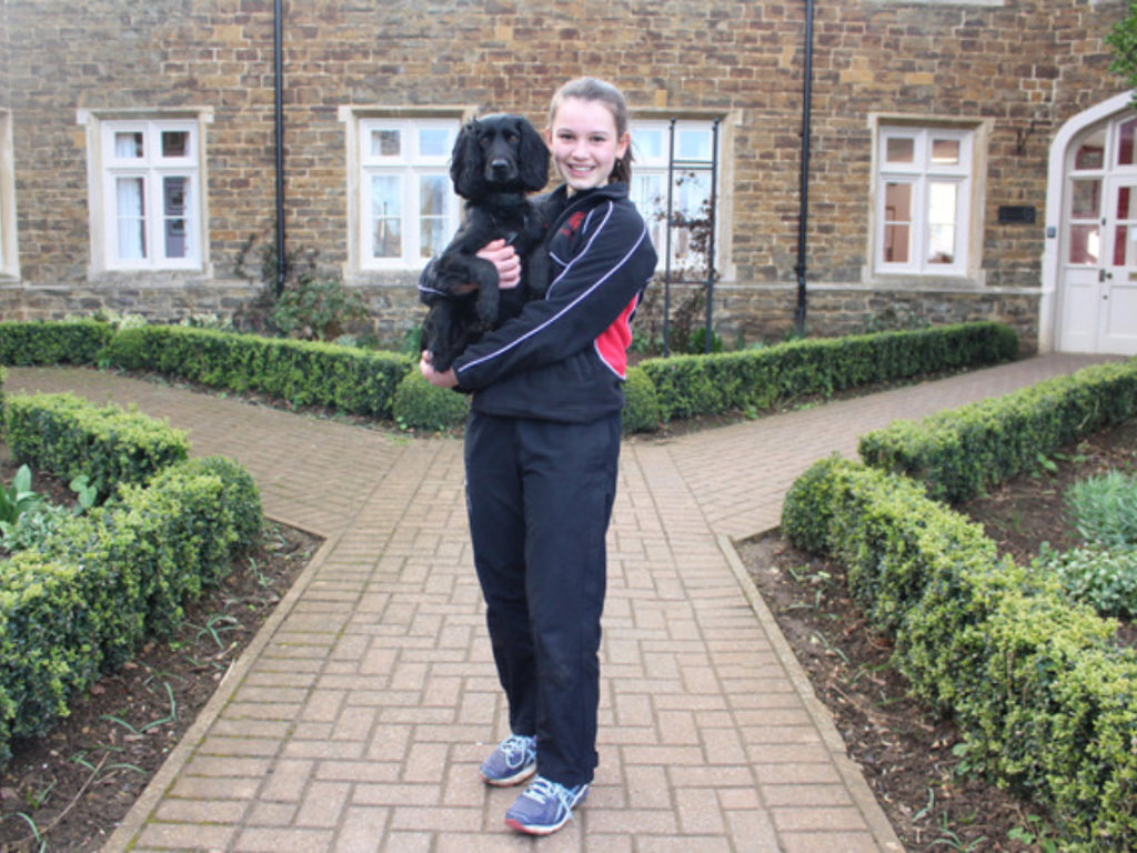 Oakham School - Clare and Tia - Crufts Finalists - 5