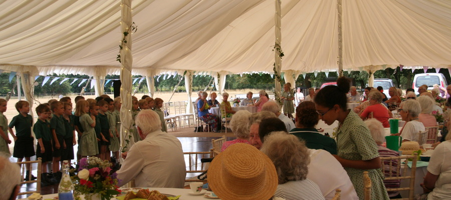 The Oakwood School summer tea party is to be held again for Chichester's elderly community