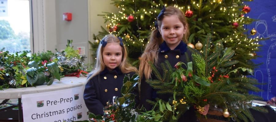 Pre-Prep Christmas Posies