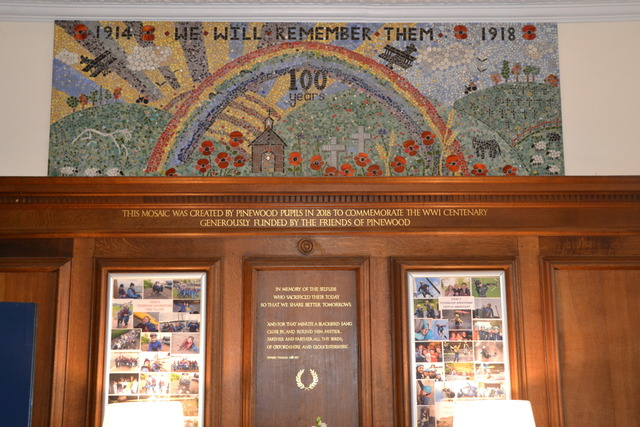 WW1 Mosaic & thank you letters Nov 18 004