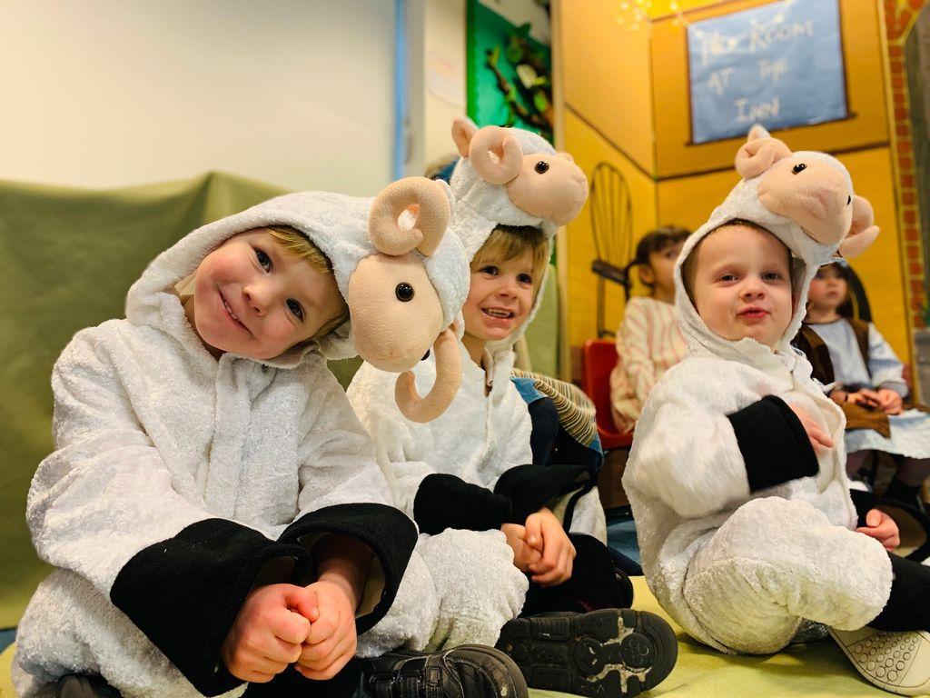 'Good night, sheep tight' Portsmouth High School Pre-School Nativity