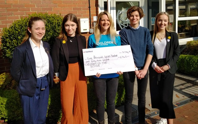 Portsmouth High School Sixth Form raise over £6.5k for Children on the Edge