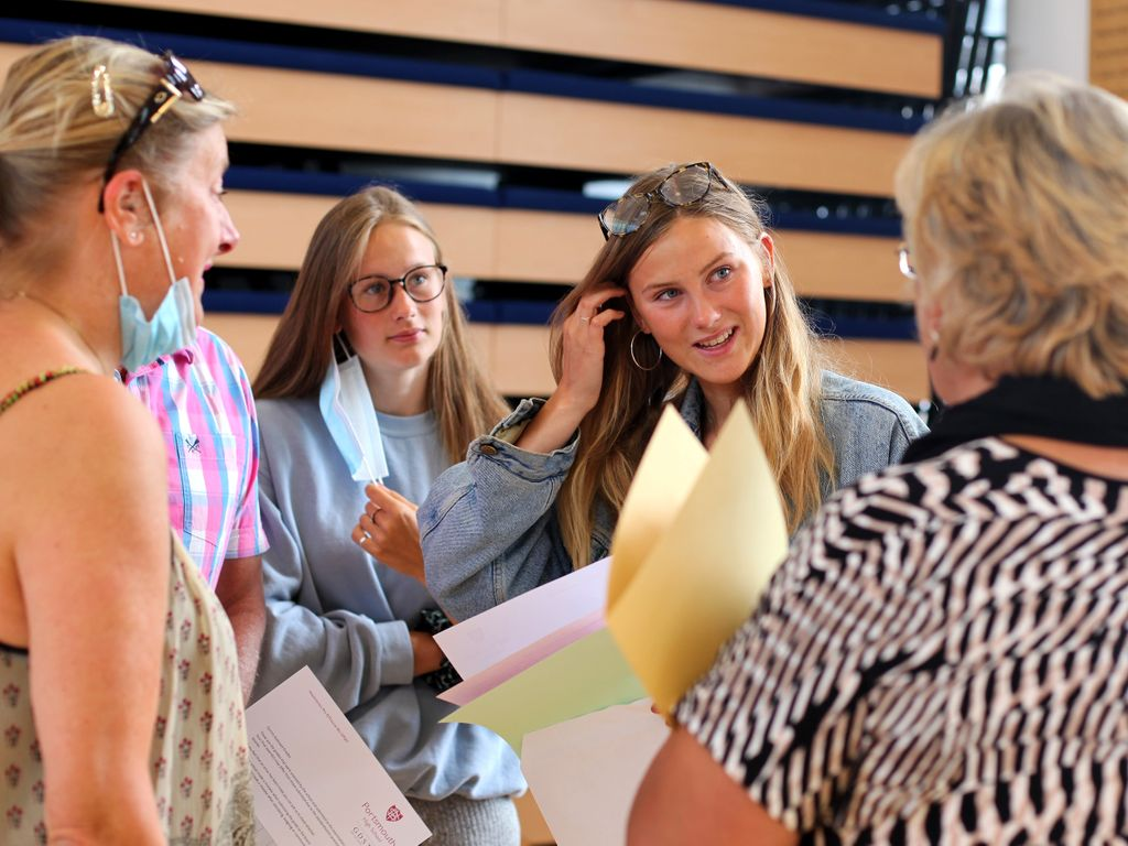 Portsmouth High School GDST 'an A Level results day like never before'