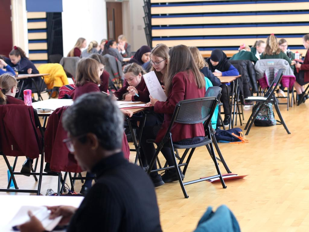 Mathematics challenge day for primary schools