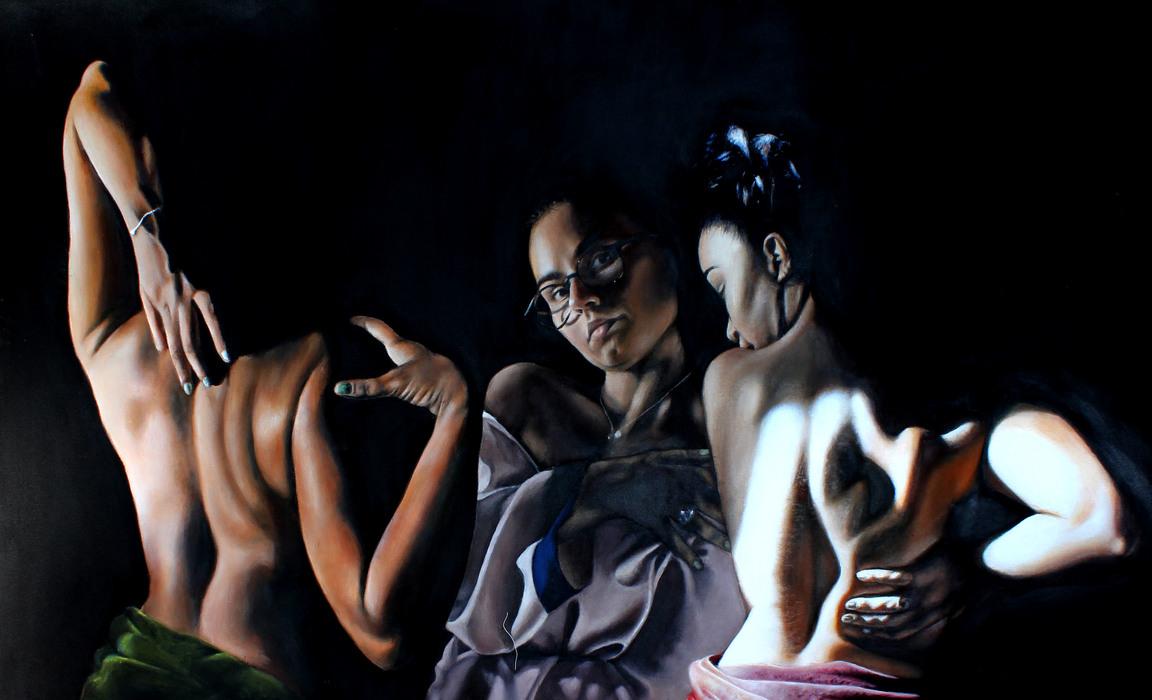 Helena Lintott A Level Fine Art 'The Gift''