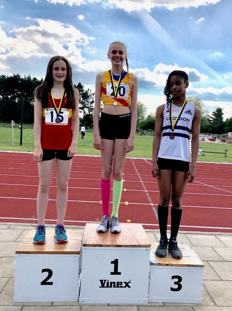 Putney High School High Jumper Mabel-Rose and The Lucky Socks