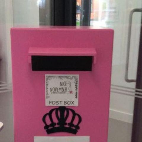 Nice november post box