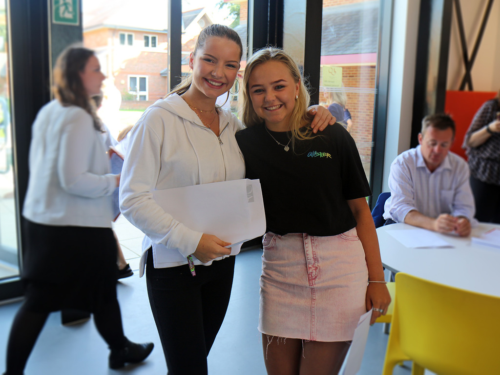 Abby achieved straight 9/8 (A*) grades and a Headmistresses Sixth Form Scholarship.