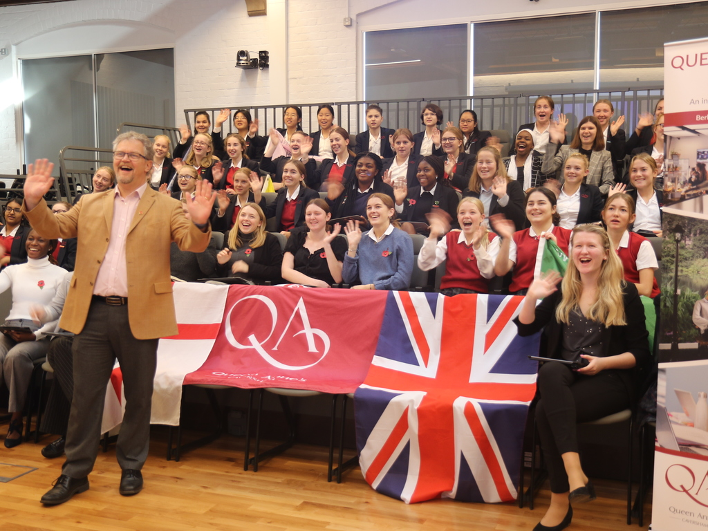 QUeen Anne's receives prestigious Microsoft Showcase School Award