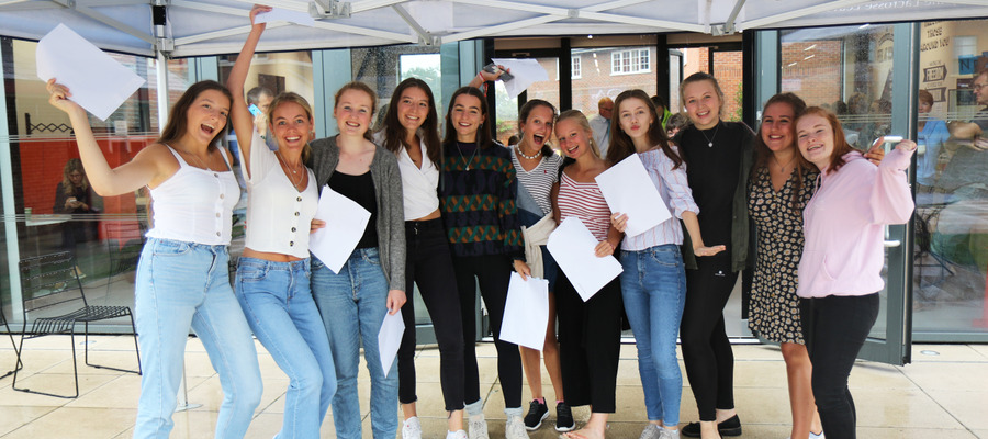 Queen Anne's School A level group