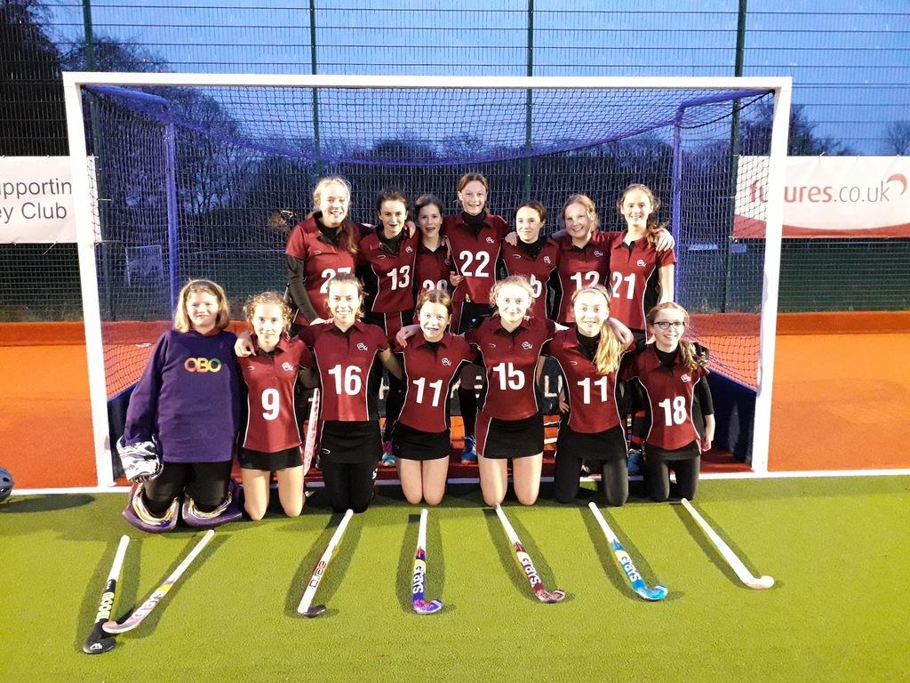 U14 Hockey Team Makes Queen Margaret's History