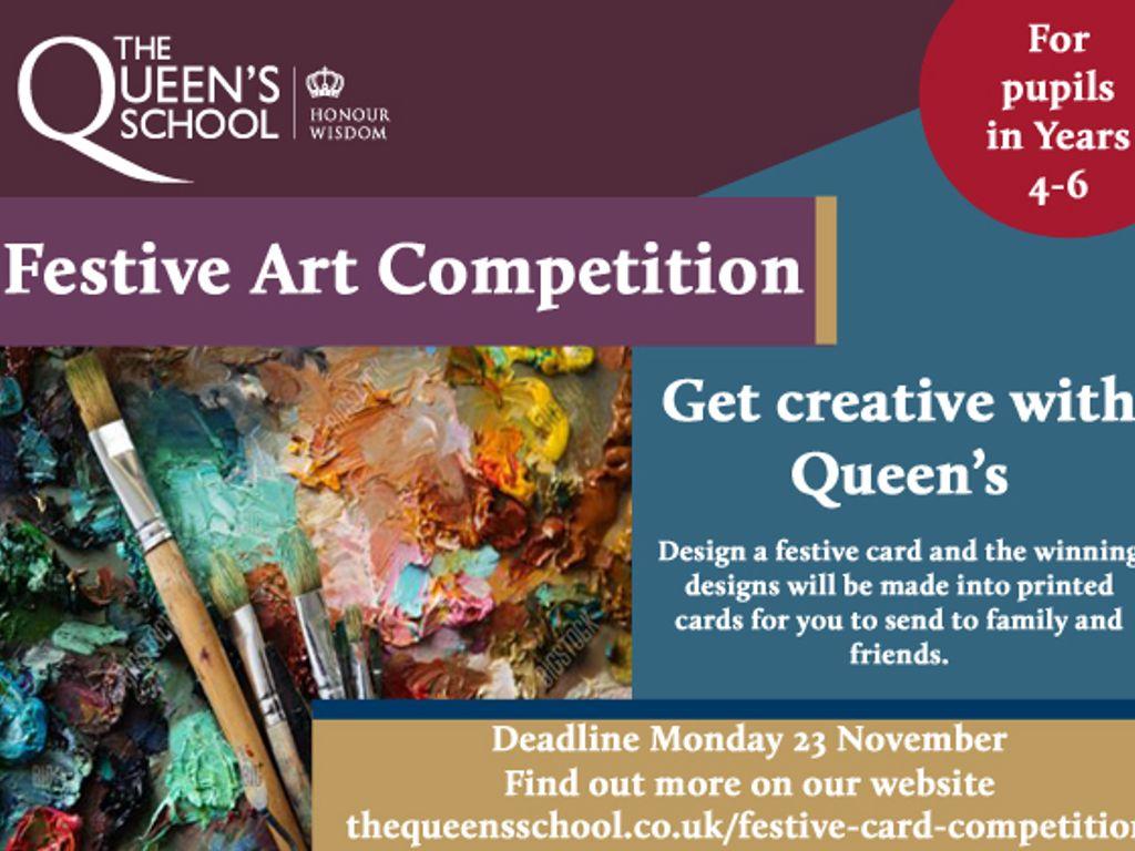 Festive Art Competition Ad copy