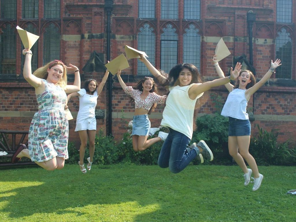 Queen's celebrate outstanding A-level results