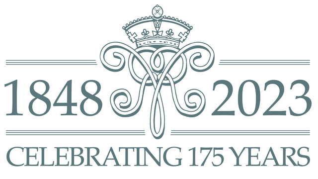 GREEN-QUEENS-COLLEGE-175-YEARS-LOGO-MASTER-COLOURS