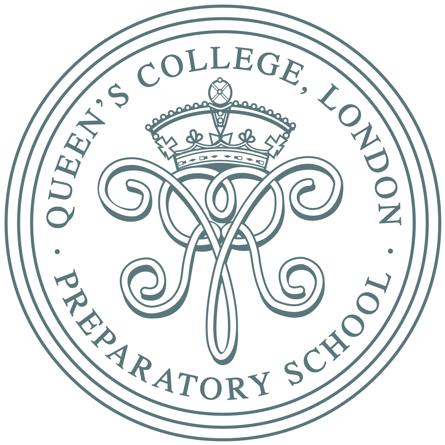 Queen's College Preparatory School logo