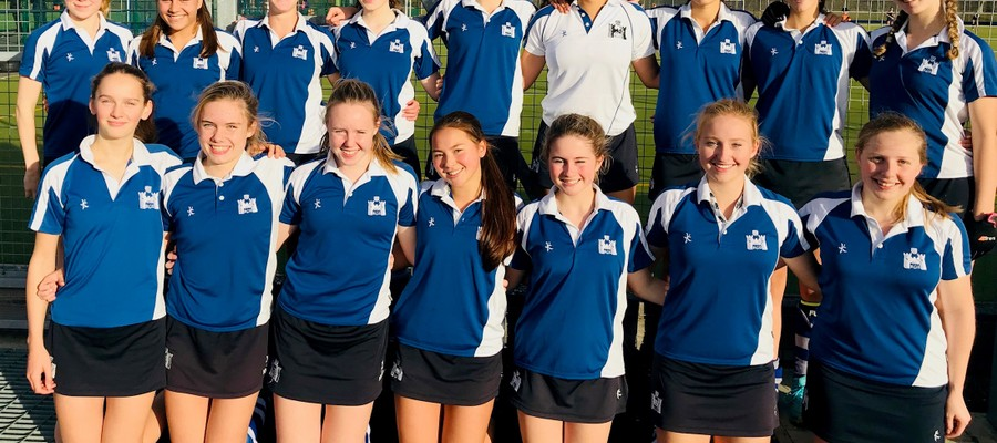 The Under 16 Hockey team topped their group in the Southern Schools Pool