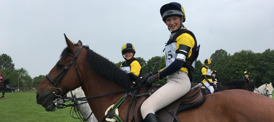 Katie and Serena Riding