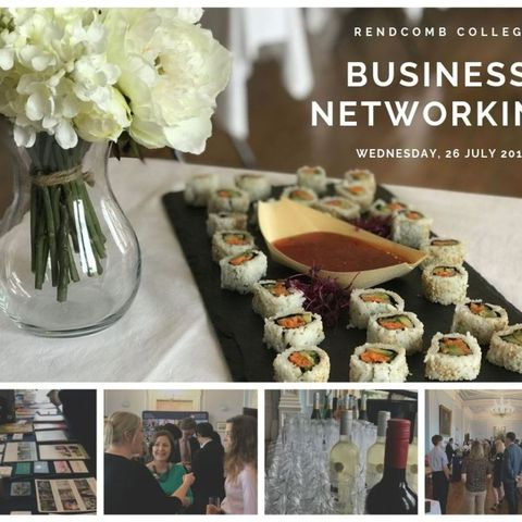 Business Netwroking Photo Collage