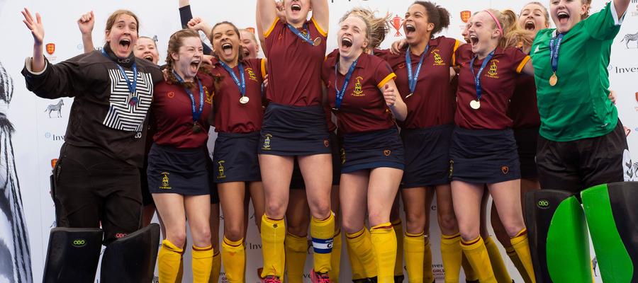 Repton School U18 Girls National Champions