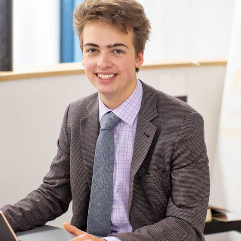 RGS Newcastle student, Theo Wride, awarded an BEM in the Queen's Birthday Honours