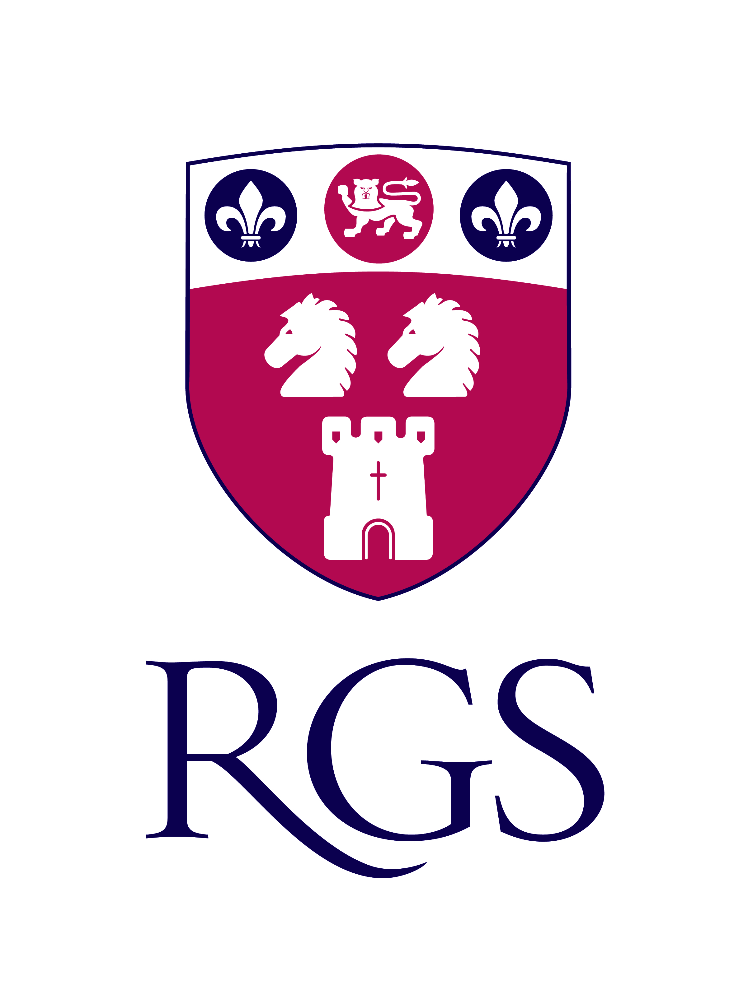 Royal Grammar School Newcastle logo