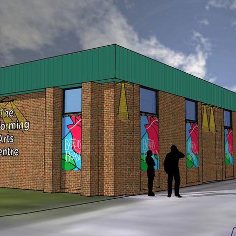 Performing arts centre - concept artwork
