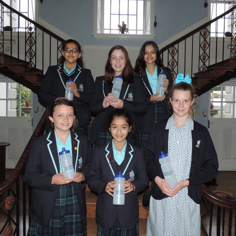 •	Plastic ban – Saint Martin's school has banned single-use plastic bottles across the school.