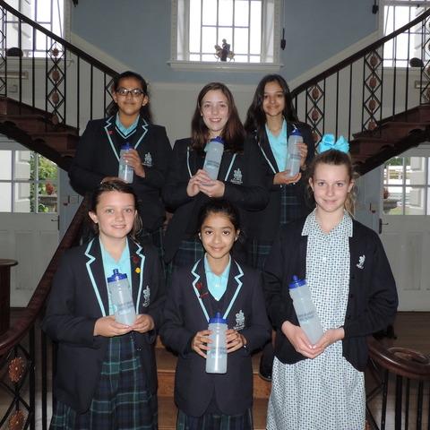 •Plastic ban – Saint Martin's school has banned single-use plastic bottles across the school.