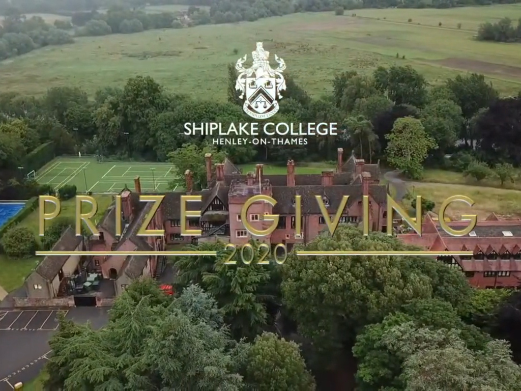 Prize Giving Ident Still Image