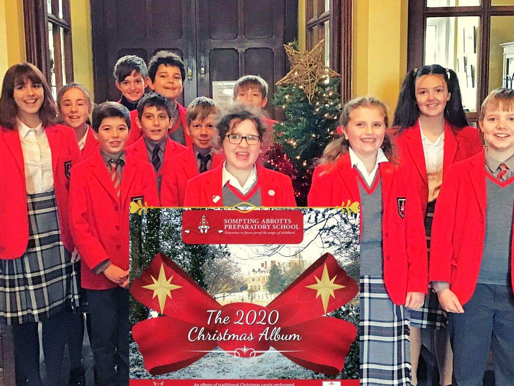 Sompting Abbotts Chamber Choir Christmas Album