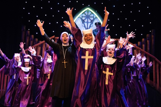 'Praise the lord! Join the flock! Party 'til you make the cloister rock!'