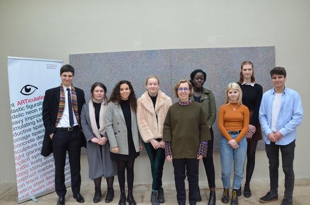 ARTiculation 2018 New Art Centre Regional Final Speakers with Emma Goltz