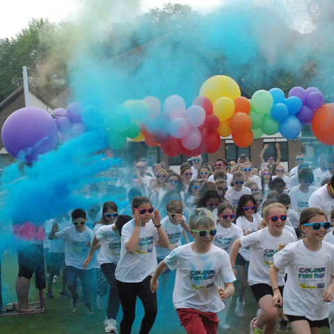 st andrews prep colour fun run 2019 2