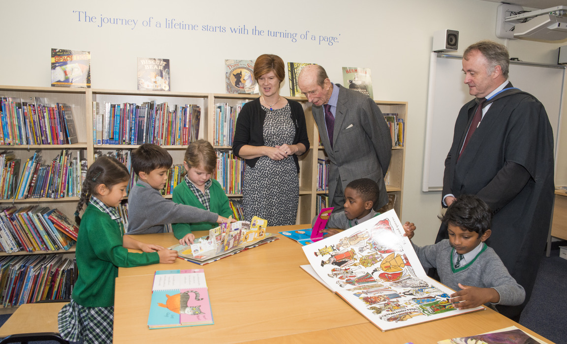 St. Andrew's School's New Library