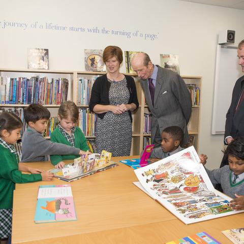St. Andrew's School's New Library