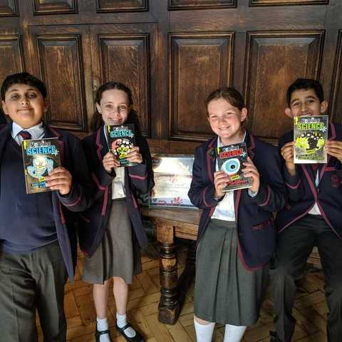 Science Competition winners May 2019