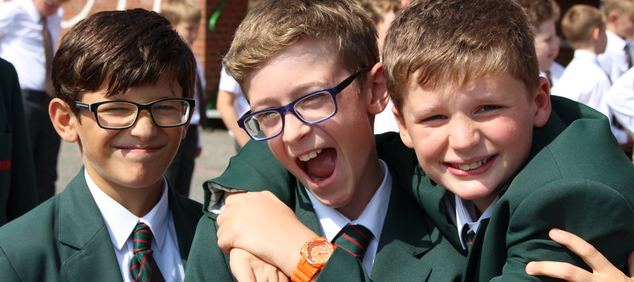 Bede's Prep pupils at the Year 7 Team Building Day (1)