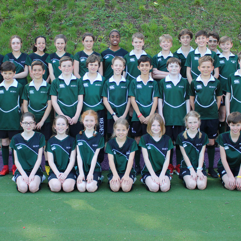 Bede's Prep Hockey teams: Boys 1st Colts, Girls U13s and Girls U11s