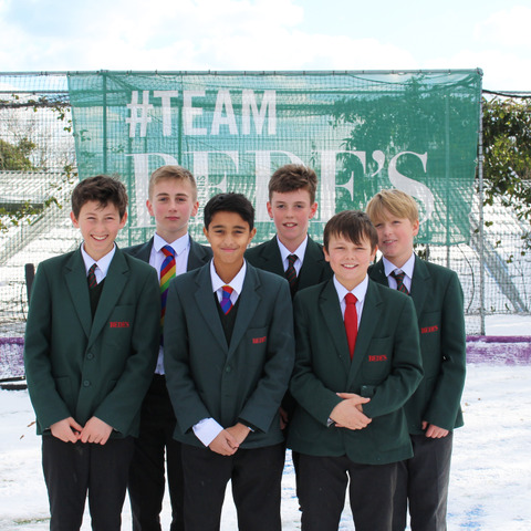 Bede's Prep U13 Boys Hockey Team