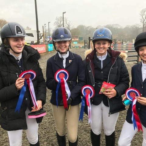 Bede's Equestrian Team at the NSEA County Challenge Qualifier