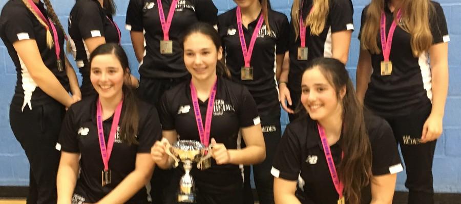 Bede's U15 Girls Indoor Cricket Team